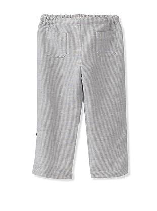 Je suis en CP! Boy's Pocket Pants (Grey Stripes)