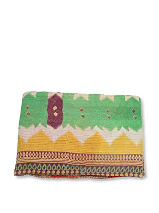 Mili Designs NYC One of a Kind Vintage Kantha Throw, #160