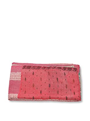 Mili Designs NYC One of a Kind Vintage Kantha Throw, #218
