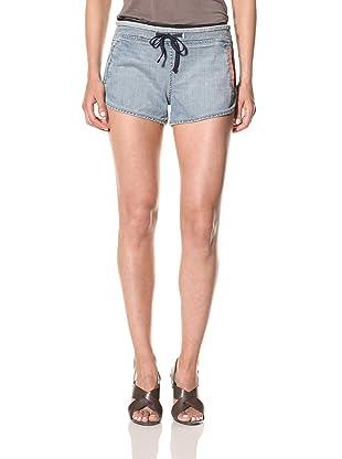 [BLANKNYC] Women's Happy Trail Denim Shorts (Blue)