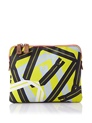 Loquita Women's Abstract Zipper iPad Sleeve (Lime)