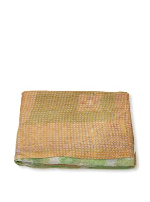 Mili Designs NYC One of a Kind Vintage Kantha Throw, #276