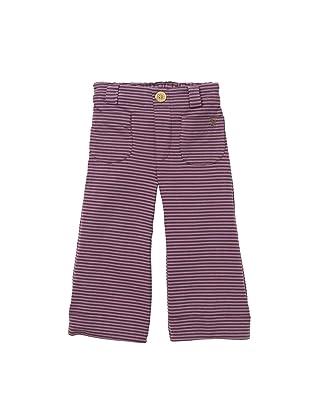 Pink Chicken Carol Flare Leg Pant (Brown/Purple)