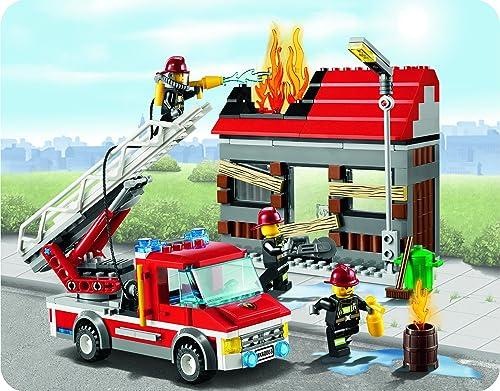 レゴ シティ ファイヤートラックとハウス 60003