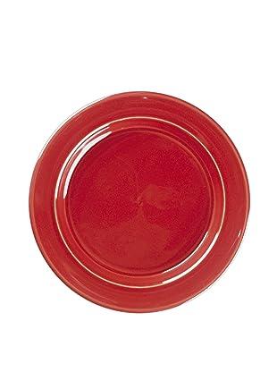Emile Henry Salad Plate, Cerise Red, 8.75