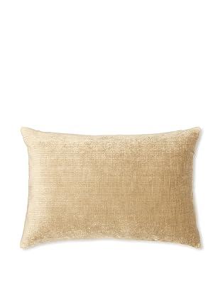 Kevin O'Brien Studio Velvet Pillow, Latte Cream, 14