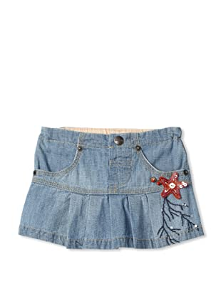 Bebe Bushh Girls Ruffle Skirt (Indigo)