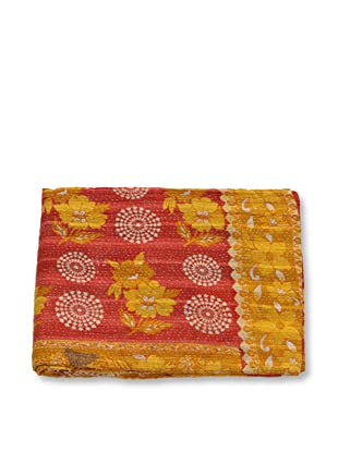 Mili Designs NYC One of a Kind Vintage Kantha Throw, #164