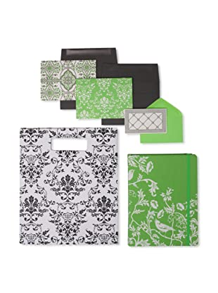 Elum Rococo-Green/Onyx Collection, Green/Onyx