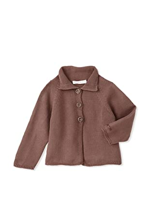 Chloe Girl's Double-Button Jacket (Muffin)