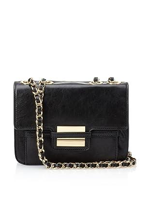 Z Spoke Zac Posen Women's Americana Double Chain Bag (Black)