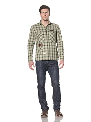 Marshall Artist Men's Hunting Shirt (Leaf/Olive)