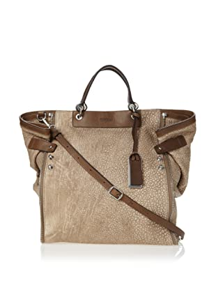Gryson Women's Mabel Lamb Textured Tote (Camel)
