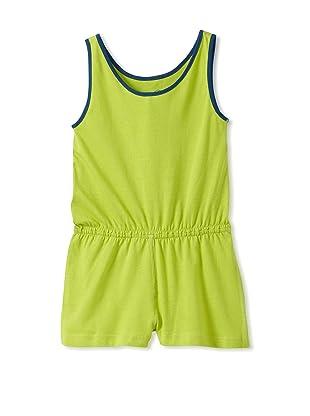Soft Clothing Kid's Paige Romper (Machu Pichu Green)