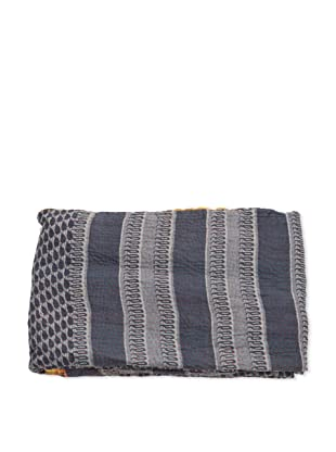 Mili Designs NYC One of a Kind Vintage Kantha Throw, #111