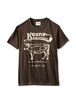 Tailgate Men's Keen's Steakhouse T-Shirt (Earth Brown)