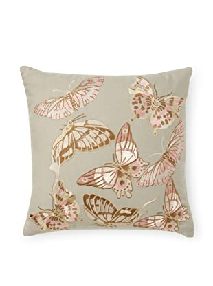 Aviva Stanoff Butterfly Decorative Pillow (Escape Powder)