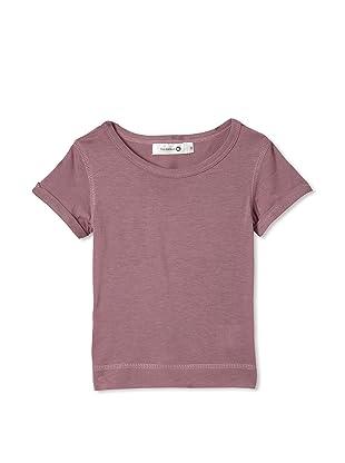 TroiZenfants Girl's Short Sleeve Tee (Purple)