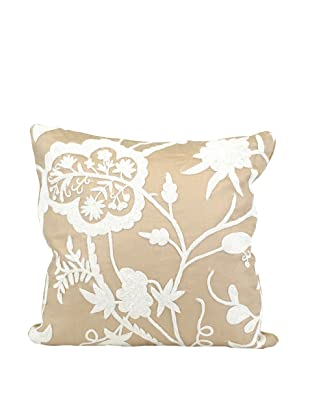 John-Richard Collection Floral Velvet Pillow, 20