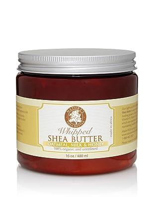 Nature's Shea Butter Oatmeal Milk and Honey Whipped Shea Butter, 16 oz