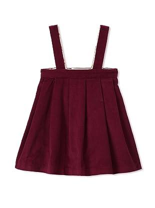 Je suis en CP! Baby V-Dress (Dark Red)