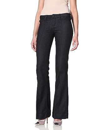 SOLD Denim Women's High Heel Bell Flare Jean (Indigo)