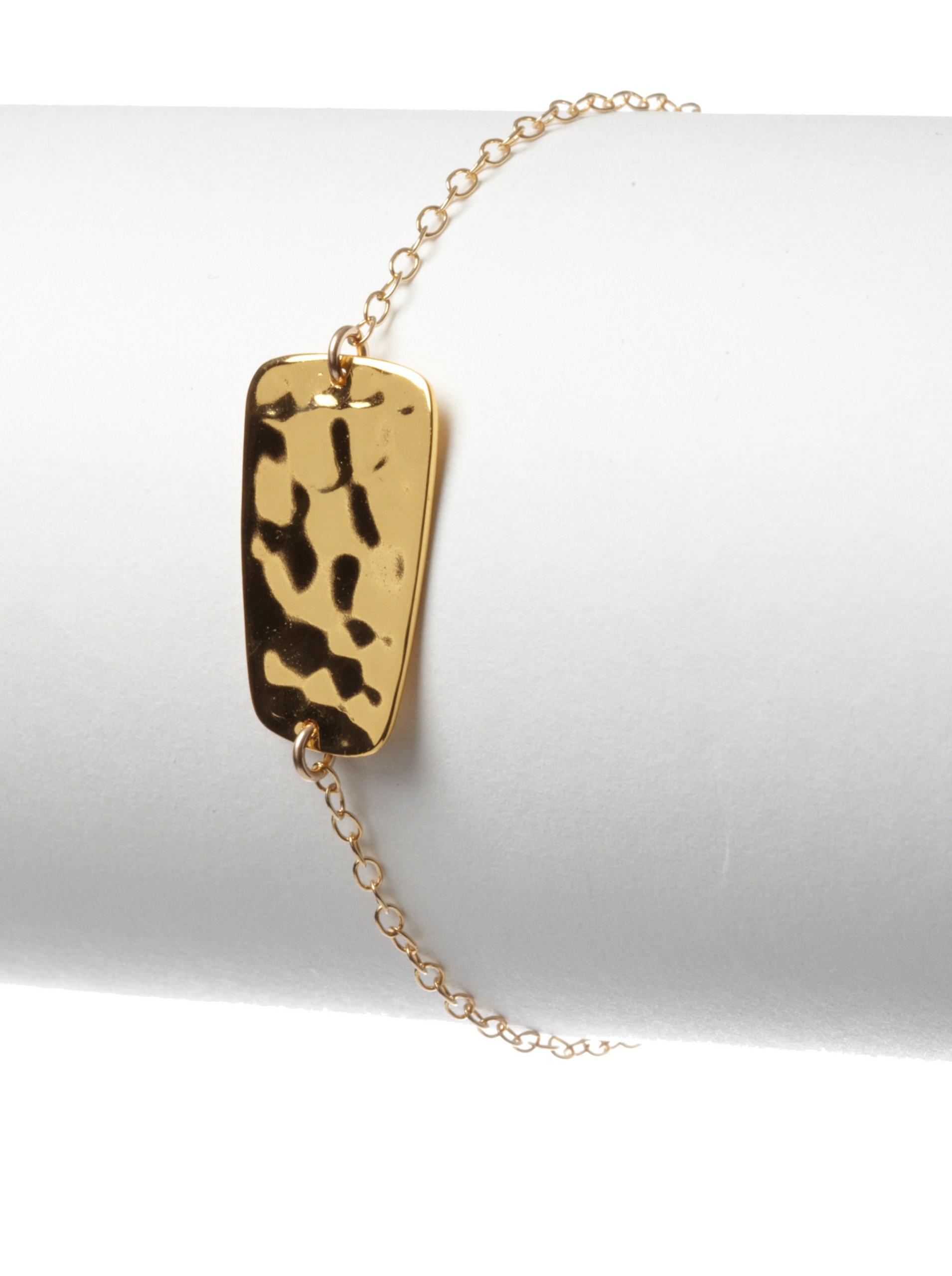 gorjana Blake Charm Bracelet, Gold