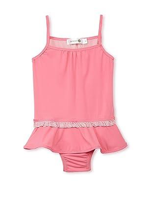 TroiZenfantS Girl's Skirted Swimsuit (Pink)