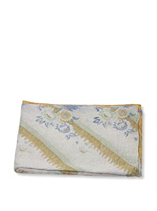 Mili Designs NYC One of a Kind Vintage Kantha Throw, #217