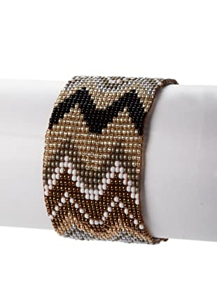 nOir Natural Multicolor Zig Zag Bracelet