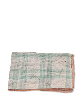 Mili Designs NYC One of a Kind Vintage Kantha Throw, #230