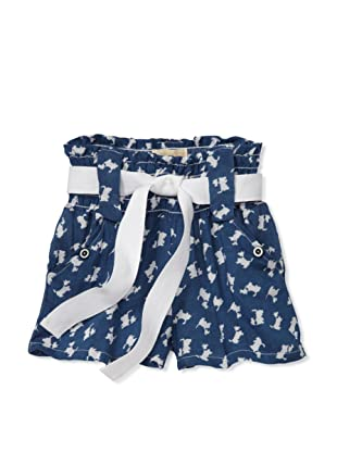 Lunchbox Girl's Scotty Shorts (Blue)