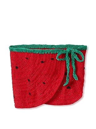 H. Maude Girl's Soiree Skirt (Strawberry)