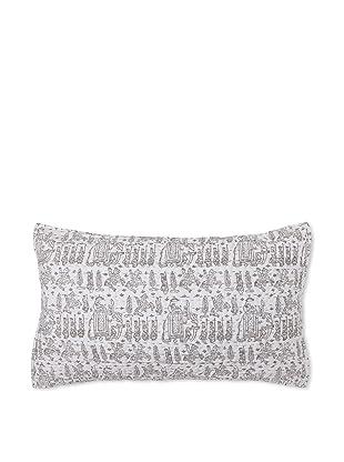 Jaipur Bedding Baraat Kantha Pillow Sham (Taupe)