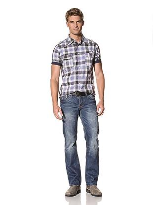 MOD Men's Allen Straight Leg Jeans (Long Cay Blue)