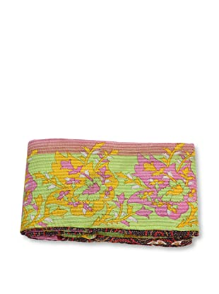 Mili Designs NYC One of a Kind Vintage Kantha Throw, #153