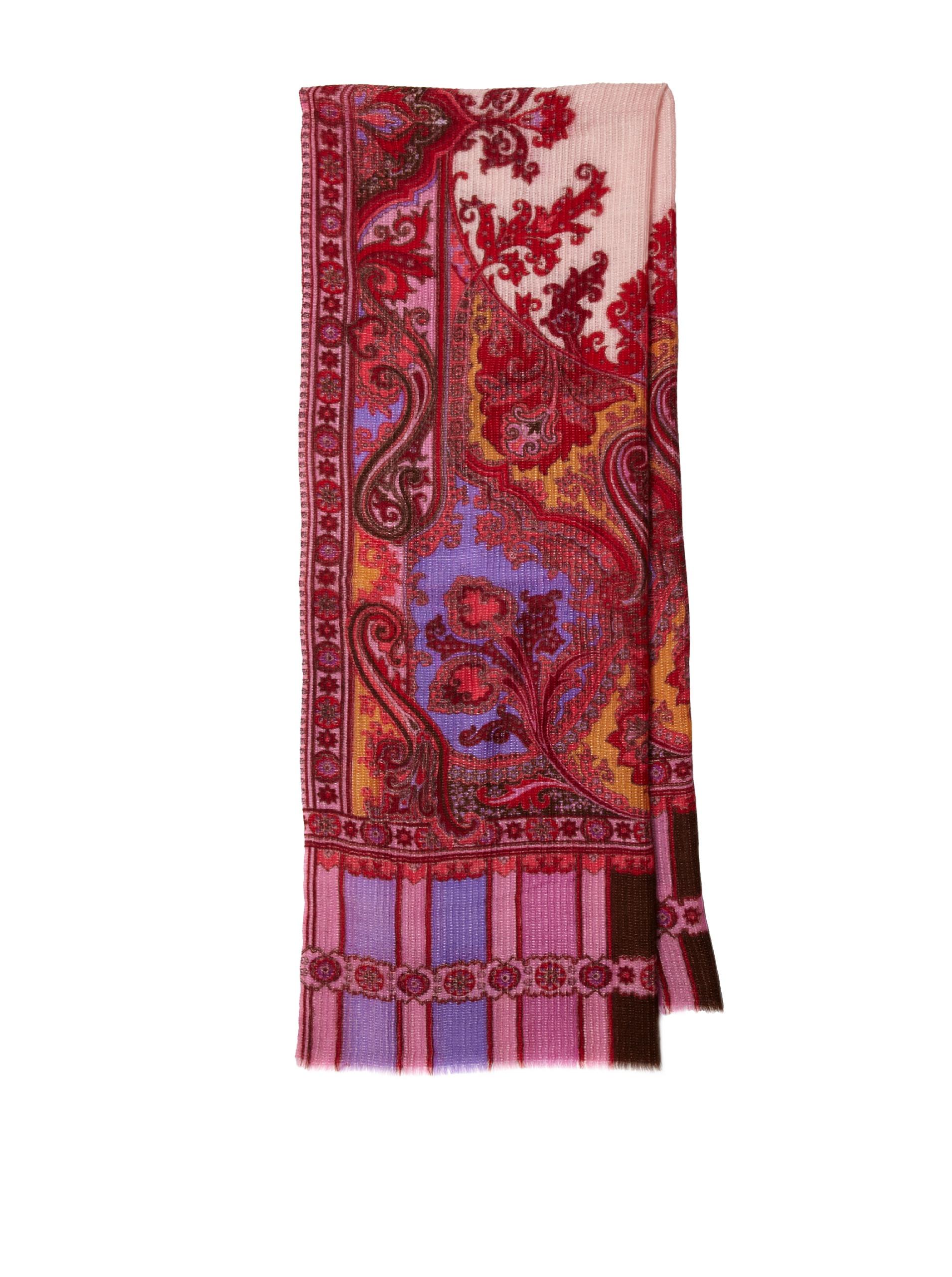 Saachi Women's Athena Scarf (Multi Pink)