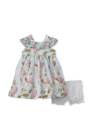 Laura Ashley Girl's Dress (Ivory/Multi)