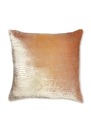 Kevin O'Brien Studio Slinky Velvet Pillow, Sunflower, 18