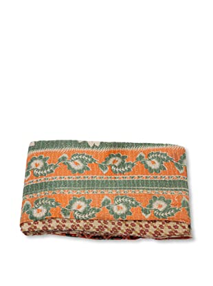 Mili Designs NYC One of a Kind Vintage Kantha Throw, #224