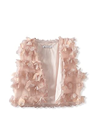 Charabia Girl's Petal Vest (Pink)