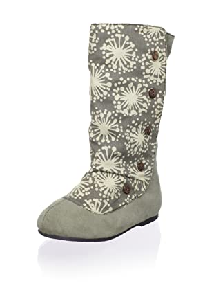 Joyfolie Kid's Callista Spat Boot (Olive Gray)