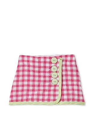 Upper School Girl's Wrap Skirt (Magenta)