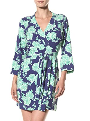 Cosabella Women's Tilly Print Robe (Twilight)