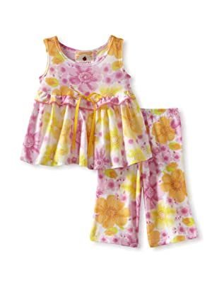 Country Baby Girl Texas Tutu Set (Country Flowers)