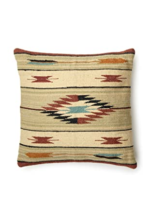 La Boheme Hand Woven Pillow (Red)