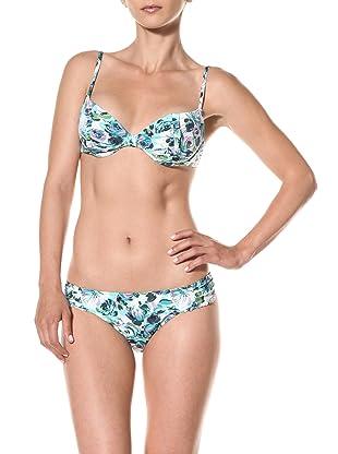 Nanette Lepore Swim Women's Madison Avenue Siren Bikini Bottom (Seafoam)