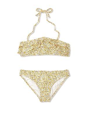Eberjey Mini Girl's Chloe Spring Blossom Bikini (Yellow/Ivory)
