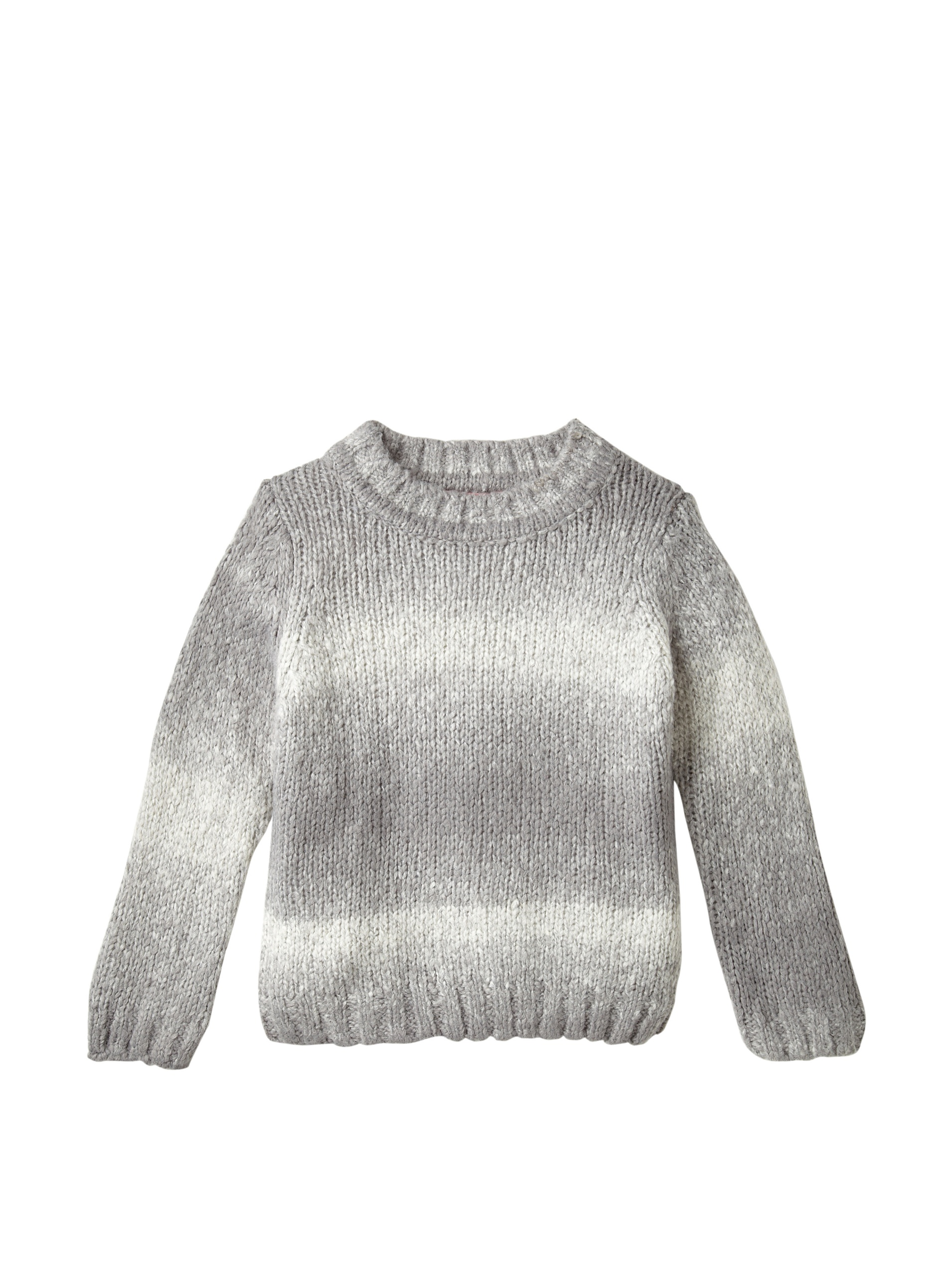 One Kid Boy's Ombre Sweater (Grey)
