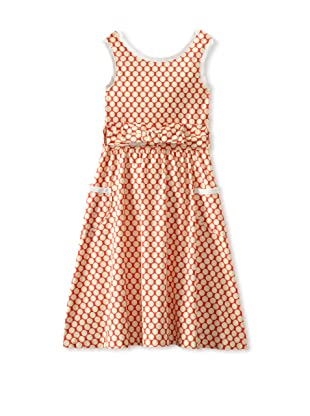 Amoretti Girl's Fancy Free Dress (Spotted Cherry)